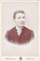 24141 Photo Jeune Homme 10x16 Cm -photographe Berthault Angers France -Paul Alphonse Forget Né 1878 Paris