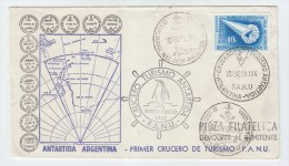 Argentina ANTARCTIC FIRST DAY COVER FDC 1959 - Stamps