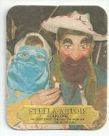 Stella Artois  -  Folklore   - Verschil Tekst -  Oostende - Beer Mats