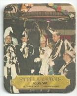 Stella Artois  -  Folklore   - Verschil Tekst -  Aarschot - Beer Mats
