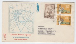 Argentina ANTARCTIC FIRST DAY COVER FDC 1965 - Stamps