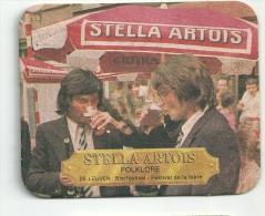 Stella Artois  -  Folklore   -  Leuven - Beer Mats