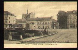 - Ciney - Le Pont St-Roch A L'entrée De La Ville 1921 - Obli Ciney Sur Timbre Albert Ier N°137 - Ciney