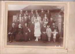 Photographie Mariage Alphonse Lebois France Rennes 35 - Famille Touffait, Lebois ? -photographe Beuve Letourneux - Personnes Identifiées