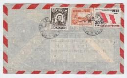 Peru/Germany AIRMAIL COVER 1951 - Peru