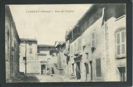 69. LUCENAY (RHÔNE). ANIMEE. RUE DE L´ EGLISE..C1344 - Autres Communes