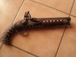 superbe pistolet � silex � identifier