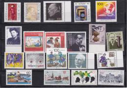 1991-1992 - 20 Briefmarken ** - [7] République Fédérale