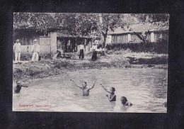 SP1-18SINGAPORE. NATIVE BATHING - Singapore