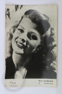 Vintage Real Photograph Postcard  Actress: Rita Hayworth - Columbia Films - Actores
