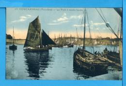 CP, 29, CONCARNEAU, Le Port à Marée Haute, Vierge - Concarneau