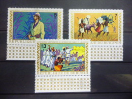 BURUNDI  555/557 Xx ( COB ) COTE : 2 EURO  ( E ) - 1970-79: Mint/hinged