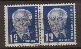 DDR , 1950 , Mi.Nr. 251 O / Used Wa. Paar - DDR