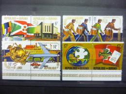 BURUNDI  644/651 Xx ( COB ) COTE : 6 EURO  ( E ) - Burundi
