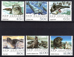 Neuseeland, 1992, Robben, MI 1220-1225, MNH - Stamps