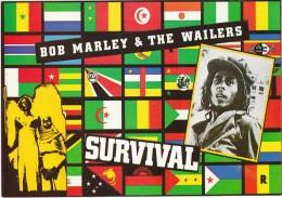 Bob MARLEY   Carte Postale N°   U458   RASTA   REGGAE - Musique Et Musiciens