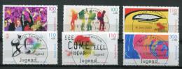 """Germany 2000  Mi.Nr.2117/22  """"Jugendmarken-EXPO2000,Tr Effpunkt Der Jugend """" 6 Werte  Used - 2000 – Hanover (Germany)"""