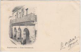 23449g FUENTERRABIA - Casa Consistorial - 1900 - Guipúzcoa (San Sebastián)