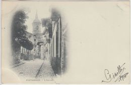 23450g FUENTERRABIA - Iglesia - 1900 - Guipúzcoa (San Sebastián)