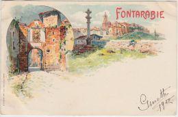 23455g FUENTERRABIA - La Porte D´Entrée - 1900 - Guipúzcoa (San Sebastián)