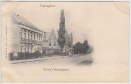 23459g DREEF - TRAMSTATIE - Somerghem - 1901 - Zomergem