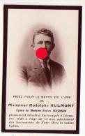 EMBOURG 1926 Décès De RODOLPHE RULMONT JEHENSON - Esquela