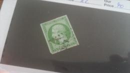 LOT 232691 TIMBRE DE FRANCE OBLITERE N�12 VALEUR 100 EUROS