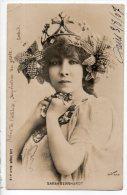 SARAH BERNHARDT . REINE DE L´ATTITUDE, IMPÉRATRICE DU GESTE . ROSTAND . PHOTO REUTLINGER - Réf. N°956 - - Femmes Célèbres