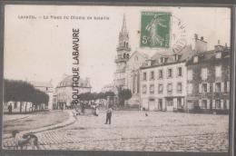 29---LANNILIS---La Place Du Champ De Bataille--animé