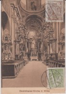 pologne  : Dominikaner - kirche  in   WILNA  (   carte  carnet  ?)
