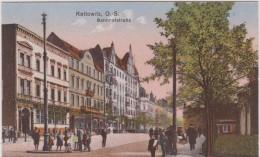 pologne  : Kattowitz   , bahnhofstrabe