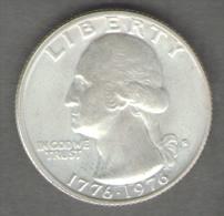 STATI UNITI QUARTER DOLLAR 1976 AG SILVER - 1999-2009: State Quarters