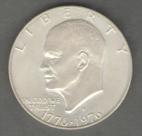 STATI UNITI ONE DOLLAR 1976 AG SILVER - Emissioni Federali