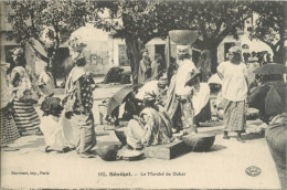 SENEGAL - LE MARCHE DE DAKAR ( PRIX FIXE !! ) - Sénégal