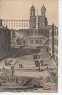 ROMA  ROME  La Trinité Des Monts - Gravé Par François Piranesi (1748-1810) - Chiese