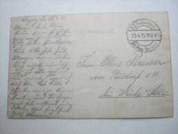 1915, LAGNY  , Carte Militaire   ,  2 Scan - WW I
