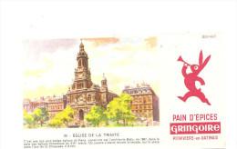 Buvard Gringoire Pithiviers En Gatinais Pain D´Epices N°39 Eglise De La Trinité - Peperkoeken