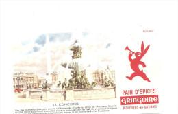 Buvard Gringoire Pithiviers En Gatinais Pain D´Epices La Concorde - Peperkoeken