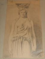 Dessin Au Fusain. 1930. - Drawings