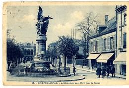 CPA 36 Indre Châteauroux Monument Aux Morts Pour La Patrie Animé - Chateauroux