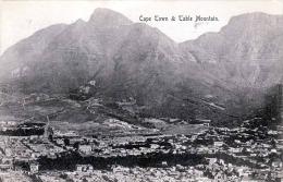 CAPE TOWN & Table Montain 1908, 2 Fach Frankiert - Südafrika