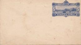 Honolulu Hawaii 1884 - 5 Keneta 5 Cents Ganzsache Auf Briefkuvert - Hawaii