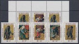 Suriname stamp Childrens Toys set + block MNH 1971 Mi 608-612 + 11 WS155990