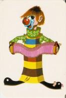 CALENDARIO DEL AÑO 1971 DE UN PAYASO (CALENDRIER-CALENDAR) CLOWN - Tamaño Pequeño : 1971-80