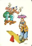 CALENDARIO DEL AÑO 1974 DE UNOS PAYASOS (CALENDRIER-CALENDAR) CLOWN-PAYASO - Calendarios