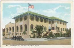 CPA Y. W. C. A. ADMINISTRATION BUILDING - GALVESTON - TEXAS - Galveston