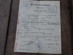 Congé Définitif D'un Combattant  De14/18 Après Les Campagnes De 1916-17-18(médaillé De La Victoire) - 1914-18