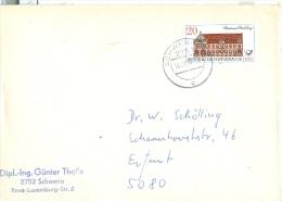 DDR Schwerin TGST 1988 Mi. 3068 Postamt Freiberg