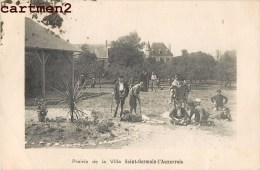 BLAINVILLE-SUR-MER PRAIRIE DE LA VILLA SAINT-GERMAIN-L'AUXERROIS 50 MANCHE - Blainville Sur Mer