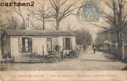 FORET DE SENART POSTE DE GARDE N°6 CHEMIN VERT CONDUISANT A BRUNOY SOISY 91 - Ohne Zuordnung